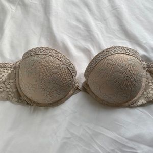 Strapless push up bra from Aerie